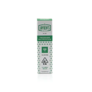 Buy Jayden's Juice Freedom Tincture CBD:THC (20:1) online
