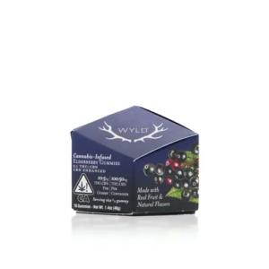 Buy Wyld Elderberry THC:CBN Gummy Pack (2:1) Online